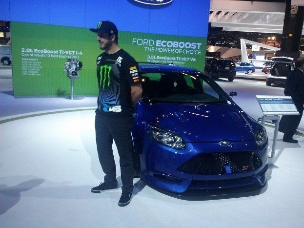 Ken Block and Ford Focus TrackSTer