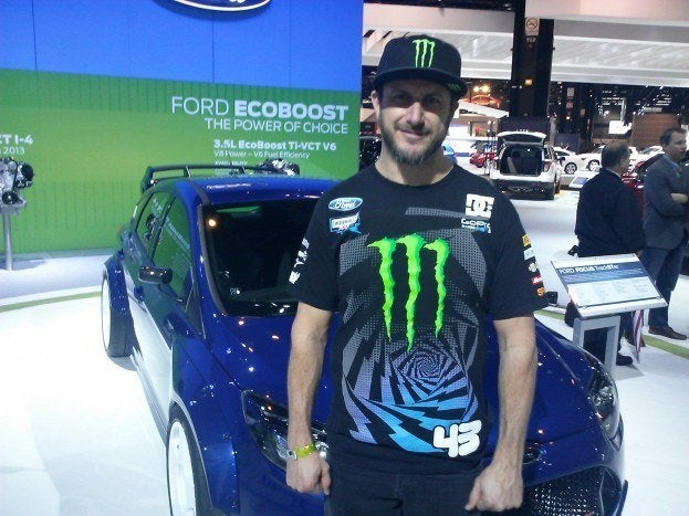 Ken Block Ford Focus TrackSTer