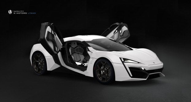 Lykan HyperSport white