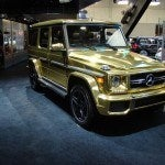 Mercedes Benz G63 AMG Gold