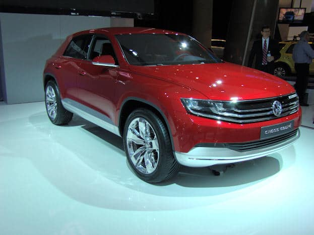 VW Cross Coupe Concept