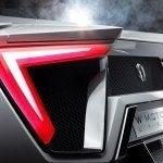W Motors Lykan HyperSport tail