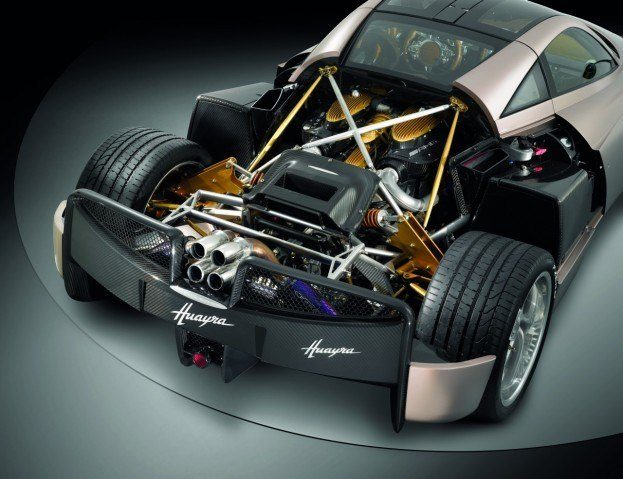 Pagani Huayra engine
