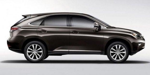 2013 Lexus RX 350 side