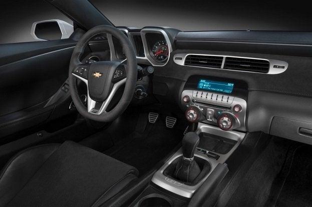 2014 Chevrolet Camaro Z/28 interior