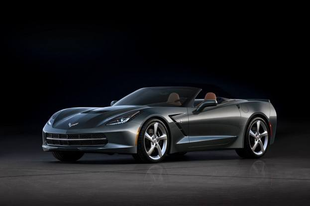 Chevrolet Corvette Stingray Convertible top down