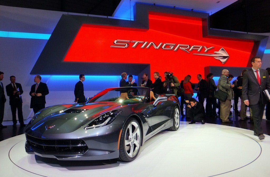 Chevy Corvette Singray Convertible 1