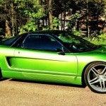 Green Acura NSX