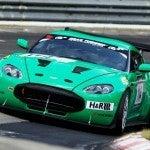 Green Aston Martin V12 Zagato
