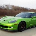 Green Corvette Z06