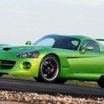 Green Dodge Viper Hennessy Venom