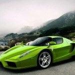 Green Ferrari Enzo