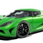 Green Koenigsegg Agera