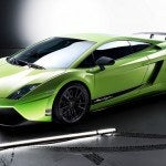 Green Lamborghini Gallardo Superleggera