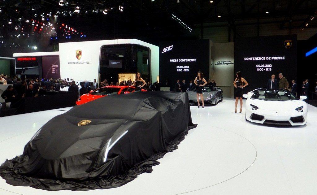 Lamborghini in Geneva