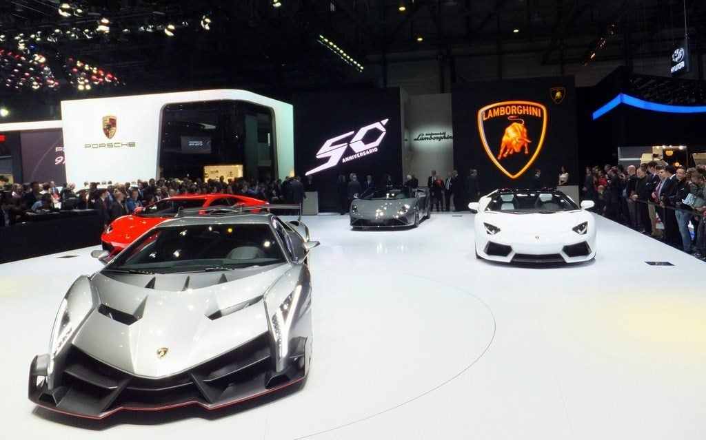 Lamborghini at Geneva
