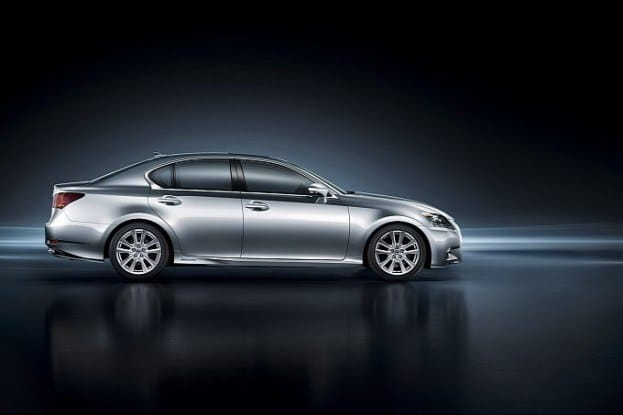 2013 Lexus GS 450h side