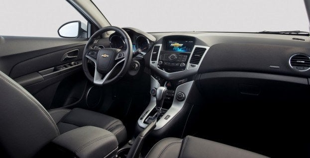 2014 Chevrolet Cruze Clean Turbo Diesel interior