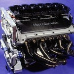 Mercedes-Benz CLK-GTR engine
