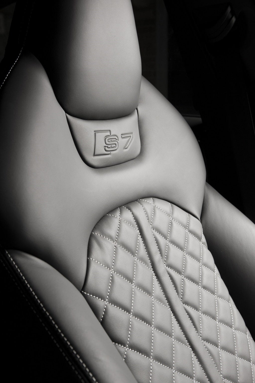 Audi S7 seat