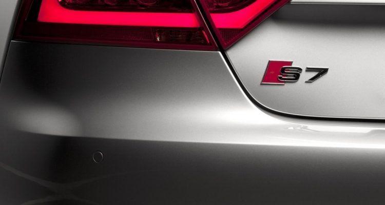 Audi S7 rear
