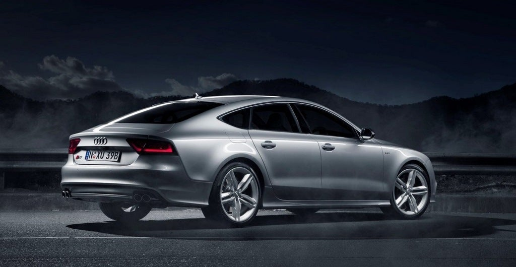 Audi S7 rear 3/4