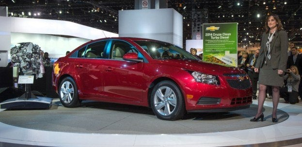 Chevy Cruze Clean Turbo Diesel