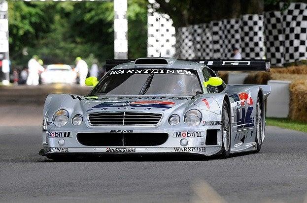 Mercedes-Benz CLK-GTR front