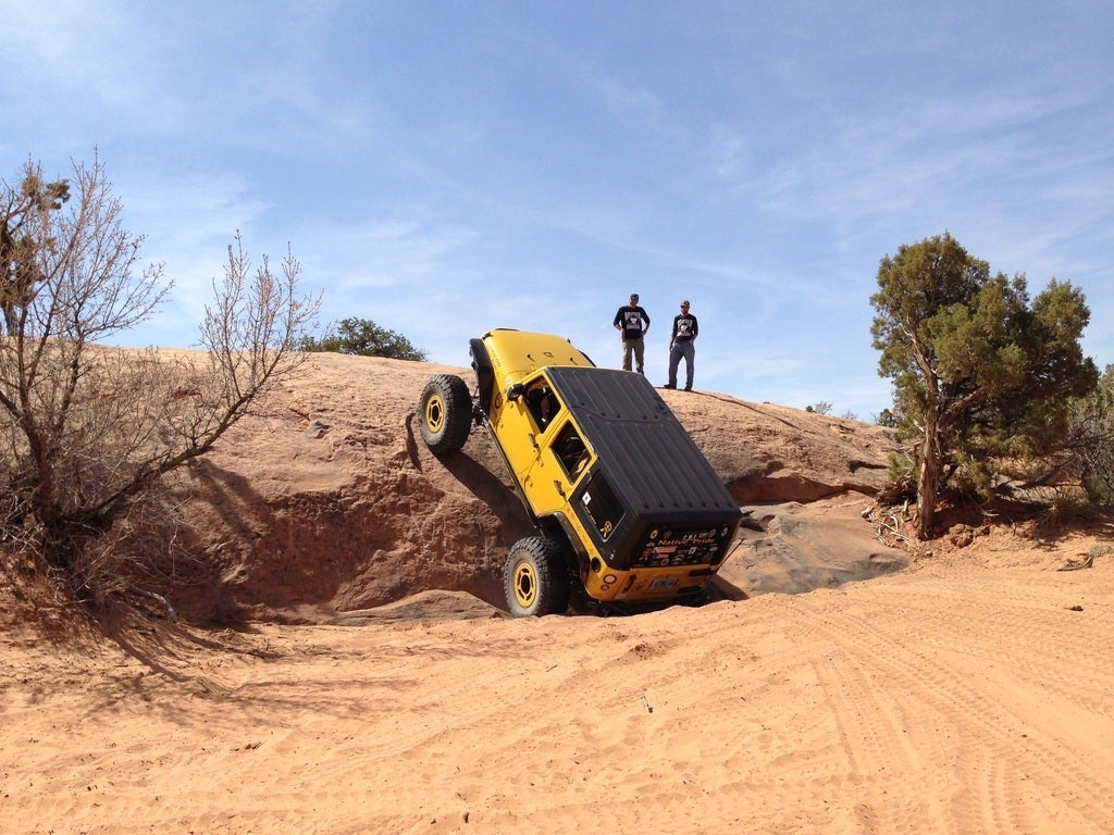 Rock Climbing Jeep Style Moab Easter Jeep Safari