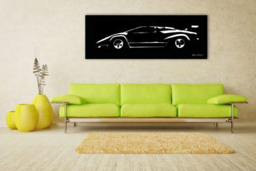 Lamborghini Countach Blackprints