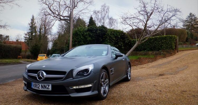Mercedes SL 63 AMG Roadster