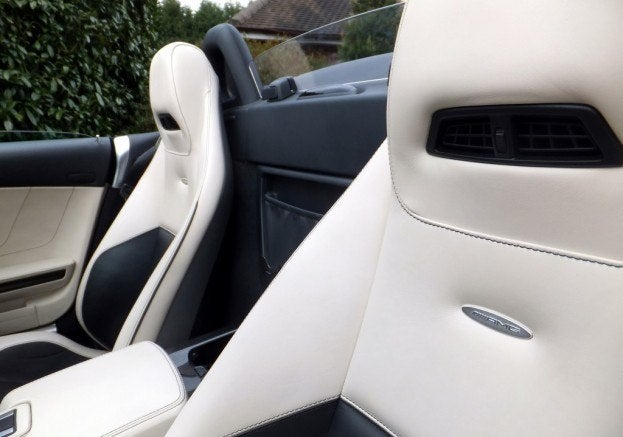 Mercedes SLS AMG Roadster seats