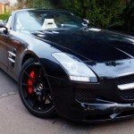 Mercedes SLS AMG Roadster header