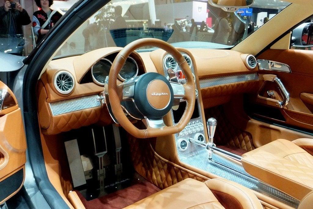 Spyker B6 Venator interior