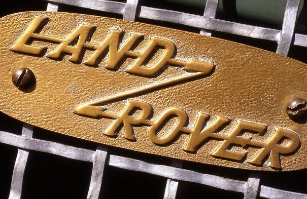 Land Rover Heritage Series Badge