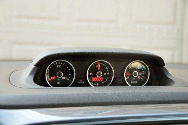 2013 Volkswagen Beetle TDI pods