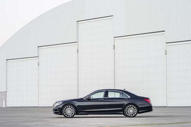 Mercedes Benz S-Class side