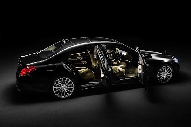 Mercedes Benz S-Class open