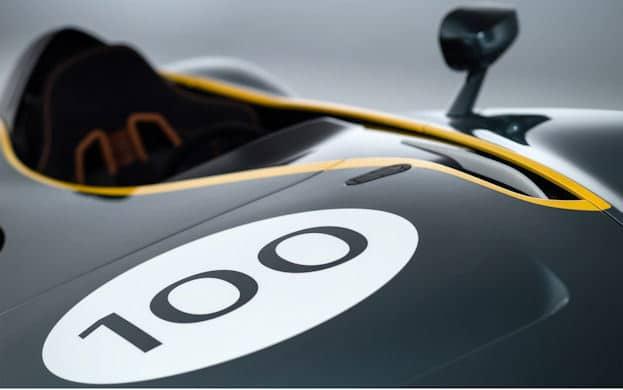 Aston Martin CC100 badge