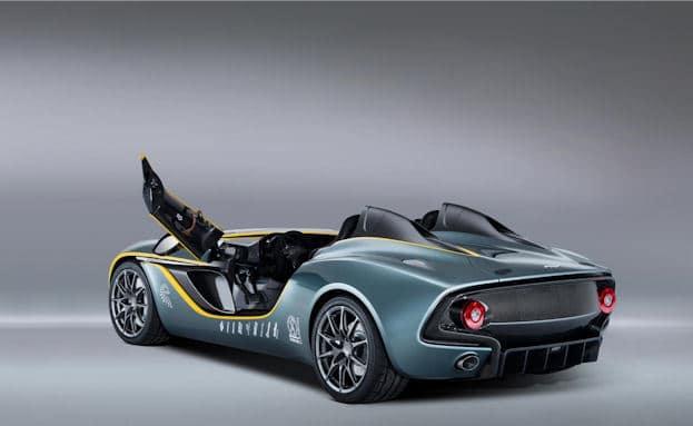 Aston Martin CC100 rear