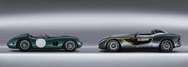 Aston Martin CC100 and DBR1