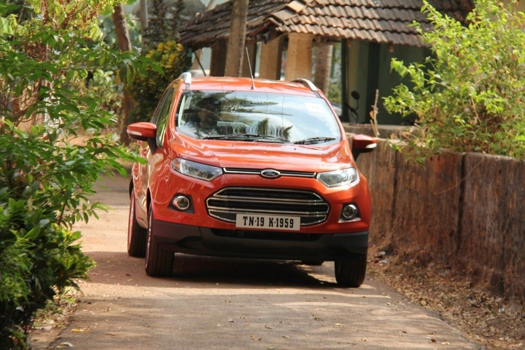 2013 Ford EcoSport front