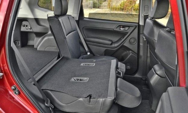 2014 Subaru Forester back seat