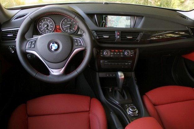 2013 BMW X1 interior