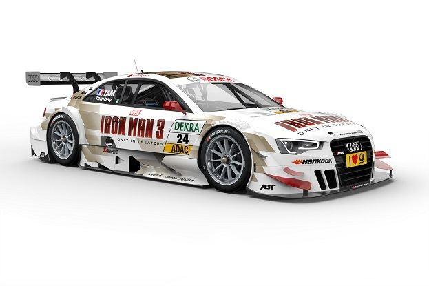 Audi RS 5 DTM startklar fuer Hockenheim