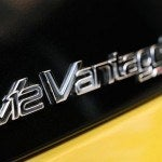 Aston Martin V12 Vantage S badge