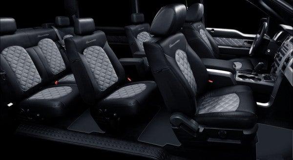 Hennessey VelociRaptor SUV seating