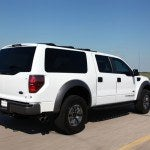 Hennessey VelociRaptor SUV rear quarter