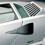 Lamborghini Countach rear vent