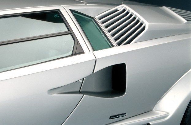 Lamborghini Countach rear air intake